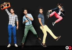 only Steve/Jimmy from Shameless (Justin Chatwin) could pull off colored pants and still be hot
