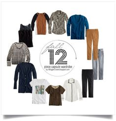 10 Piece Capsule Wardrobe | ... - Outfits and Reviews: Camel, Black, Blue 12 Piece Capsule Wardrobe