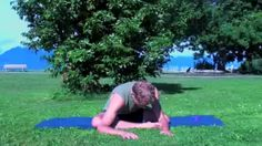 yoga for lower back and hips - YouTube