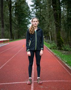 She might become the best female middle-distance runner ever. For now, though, she needs to take it slow.