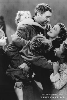 Эта замечательная жизнь / It's a Wonderful Life (1946) Фэнтези #фильмы #фэнтези #кино #бесплатно #новинки #мелодрама #новости