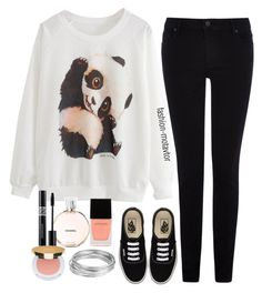 """""""Panda!!"""" by fashion-motavator ❤ liked on Polyvore featuring Warehouse, Vans, Chanel, Witchery, Isaac Mizrahi and Worthington"""