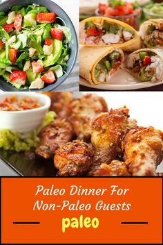 Expecting non-Paleo guests? You can still enjoy a tasty Paleo dinner together with them. Click through for the video!