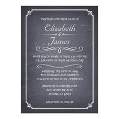 ReviewVintage Chalkboard Wedding Invitations InvitationIn our offer link above you will see