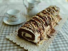 Cream & choco Roll