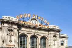 Union Station / Downtown Denver / Historic train station at 17th and Wynkoop in LoDo. #denvervibe #liveurbandenver