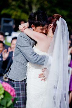 Fiona + Raymond | A Sunny Outdoor Loch Lomond Wedding | photography by @Chantal Lachance-Gibson
