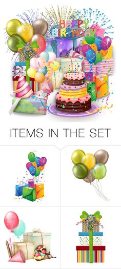 """Happy belated Birthday, dear Michelle!"" by asia-12 ❤ liked on Polyvore featuring art"