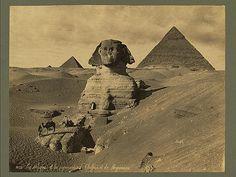 Le Sphynx et les pyramides de Cheffren et Mycérinus