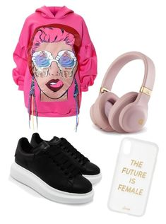 """Untitled #9"" by denierika on Polyvore featuring Alexander McQueen and Sonix"