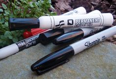 ~How to Use a Sharpie in a Survival Situation~