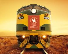 The Ghan in Australia -Travel by rail between Adelaide, Alice Springs and Darwin and you are embarking on one of the great train journeys of the world. South Australia, Western Australia, Australia Travel, Darwin Australia, Melbourne Australia, Perth, Brisbane, Trains, Trans Siberian Railway