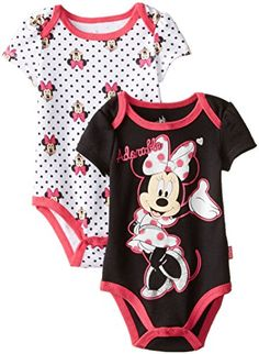 Disney Baby Baby-Girls Newborn Minnie Mouse 2 Pack Bodysuit, Black, 0-3 Months Disney http://www.amazon.com/dp/B00ULACAH0/ref=cm_sw_r_pi_dp_ncrYvb1NGFX0E