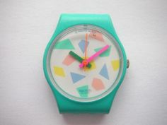 Swatch watch, remember how cool they were? If you had the swatch guard that was even cooler!!!