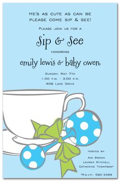 sip and see invite wording. cute! come and go brunch.. mimosa/coffee etc.