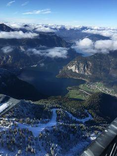 View from 5 Finger Lookout-Daschstein-Hallstatt, Austria
