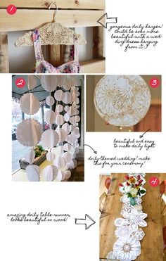 paper doily wedding ideas | It's a Doily Friday! | Wedding Photography Los Angeles | Portrait ...