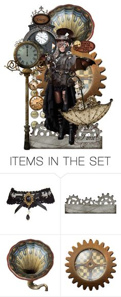 """Tick Tock, Tick Tock ... STOP!"" by sjk921 ❤ liked on Polyvore featuring art"