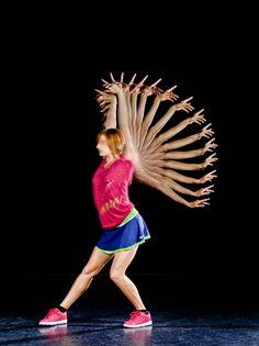 Stroboscopic |Dancer Riannon Mclean , Photographer Chris Herzfeld Camlight Productions Website