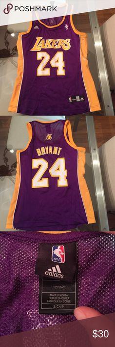 Kobe Bryant jersey (women) NBA4her Lakers jersey. Kobe Bryant #24 Adidas Tops Tank Tops