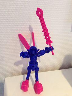 3D printet legetøj
