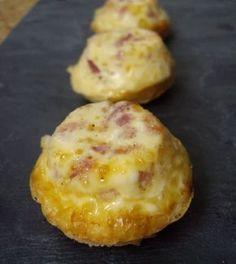 Mini croque-quiches