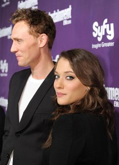 Tom Hiddleston and Kat Dennings
