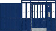 Steel Security Doors   Communal Entrance Door