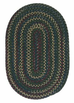 Colonial Mills Midnight MN77 Deep Forest 7' x 9' Oval by Colonial Mills. $379.00. Space-dyed colors blend with warm wool theme colors in these reversible rugs to add a welcoming comfort to any setting.
