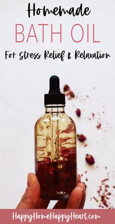 Oils For Relaxation, Diy Cosmetic, Bath Recipes, Homemade Beauty Products, Diy Spa Products, Cleaning Products, Natural Products, Natural Oils, Oil Recipe