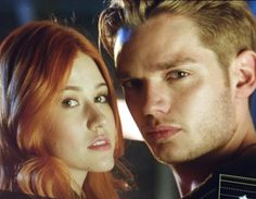 'Shadowhunters': First Look at Clary and Jace