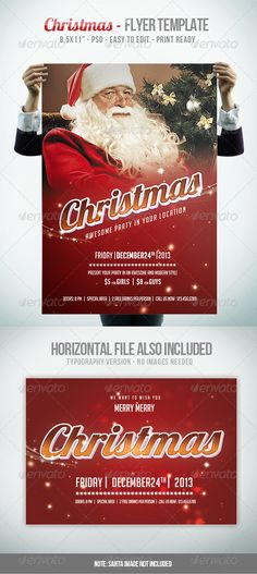 Christmas IV - Flyer Template