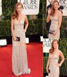 Charming Luxry Crystal Beads Red Carpet Dresess V Neck Long Celebrity Gowns
