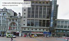 Ex-Woolworths New Street Birmingham - 2014