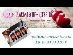 Dualseelen-Orakel für den 23. bis 29.11.2015 ♥   Karmische-Liebe.de