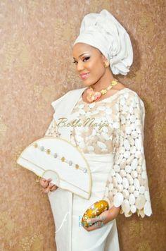 BellaNaija Bride Annette  Photography by Afolabi Sogunro of Fotos by Fola Fabrics by Super Q Makeup by Segilola Ajisoge beads Nigerian Wedding Makeup yoruba wedding bag naija bride gele aso oke
