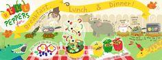 """Болгарский перец на завтрак, обед и ужин!<промежуток класс= """"title_artist'> по ЮНИСЕФ Ким</пролет>"""