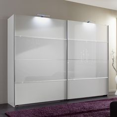Sicily Sliding Wardrobe In Alpine White And Glass With Rhineston £899.95 Dimensions:  The overall dimensions of the wardrobe W 180  x H210 x D65 cm