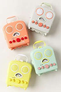 Anthropologie - Sunny Life Beach Radio/mp3 player: perfect for picnics and camping!