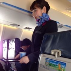 【Japan】 IBEX Airlines cabin crew / IBEXエアラインズ 客室乗務員 【日本】 Cabin, Cabins, Cottage, Wooden Houses