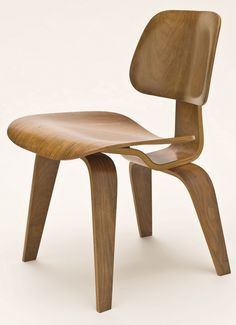 Charles Ray Eames DCW dining chair wood
