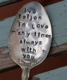 I've Fallen In Love Many Times ALWAYS With You by VintageGardenArt