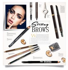 """""""Strong Brows"""" by kiki-bi ❤ liked on Polyvore featuring beauty, Bobbi Brown Cosmetics, Laura Mercier, Tom Ford, Sisley Paris, Isadora, Lord & Taylor, BeautyTrend, strongbrows and boldeyebrows"""