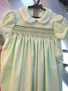 Smocked Dress - Japan