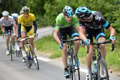 Gallery: 2014 Criterium du Dauphine, stage 8 - Green jersey Chris Froome was still not at his best. Photo: Tim De Waele | TDWsport.com