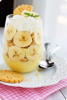 Banana Pudding Trifles