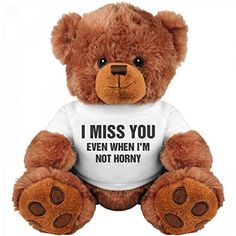 Funny Valentine's Day Gift Bear: Medium Teddy Bear Stuffe... https://www.amazon.com/dp/B01BGU23V6/ref=cm_sw_r_pi_dp_U_x_sngEAbJNSA479