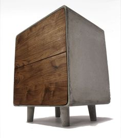 Concrete TV Cabinet by Jean Willoughby