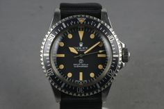 What's Selling Where: Three Spectacular Military Watches, Including An Incredible Rolex Milsub — HODINKEE - Wristwatch News, Reviews, & Original Stories