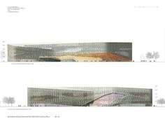 architecture elevations _ Kasi competition entry